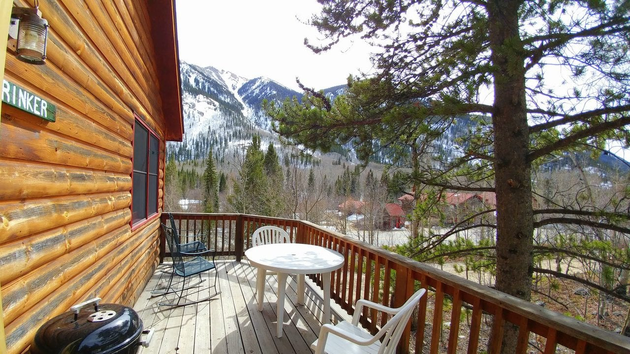 Sunny afternoons, mountains and sky, enjoy your deck.