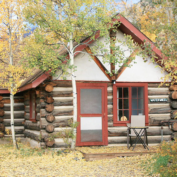 Mount Elbert Waterwheel Cabin